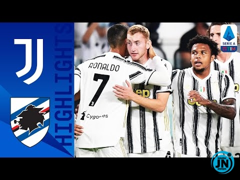 Juventus vs Sampdoria - Serie A Highlights